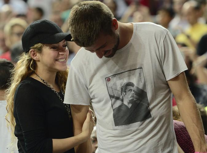 Shakira et Gerard Piqué à Barcelone le 9 septembre 2014