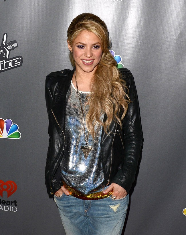 Shakira le 8 mai 2013 à West Hollywood