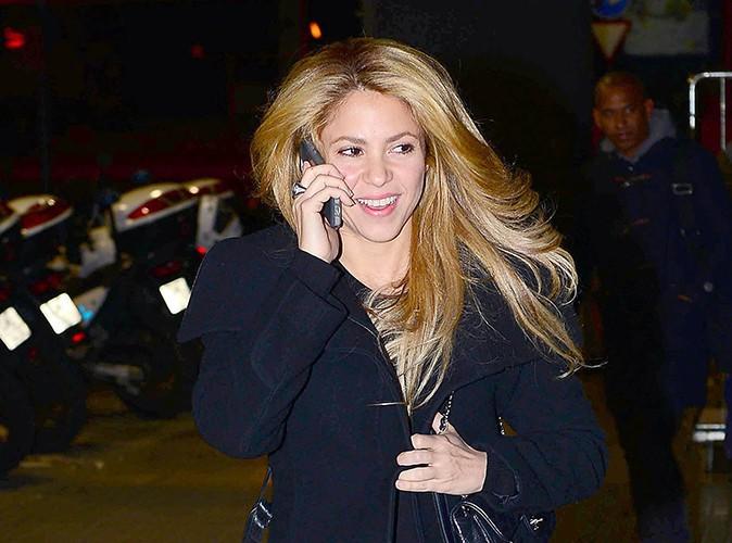 Shakira à Barcelone le 27 novembre 2013