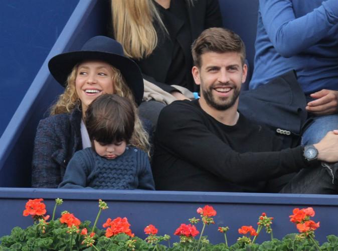 Shakira rayonnante, Gerard Piqu� papa gaga... �a respire le bonheur � Barcelone !