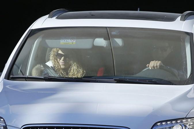 Shakira à Barcelone le 9 février 2015