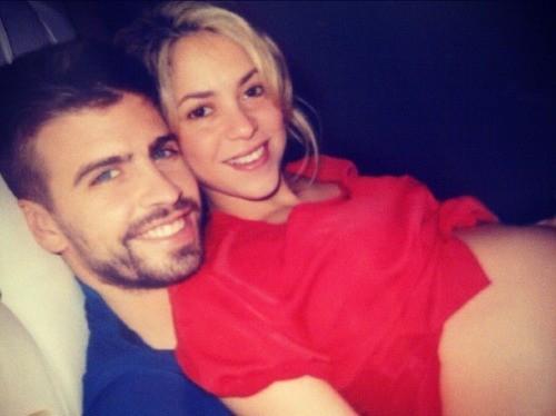 Gerard et Shakira ont posté de nombreuses fois leur amour sur twitter...