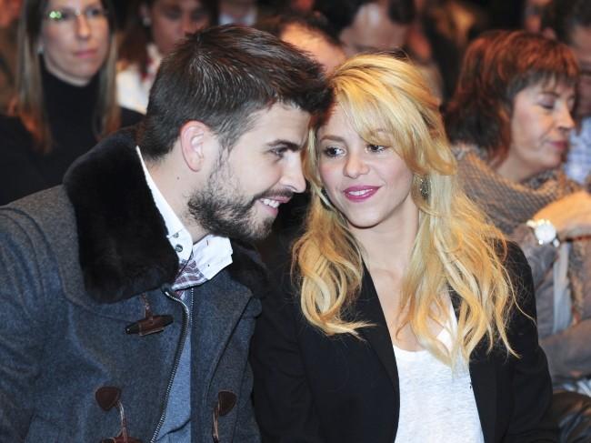 Gerard Piqué et Shakira, parents d'un petit Milan !