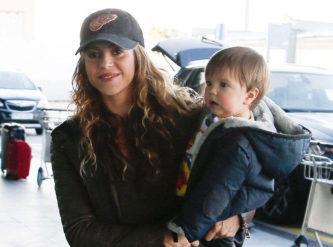 Photos : Shakira : son petit Sasha a bien grandi !