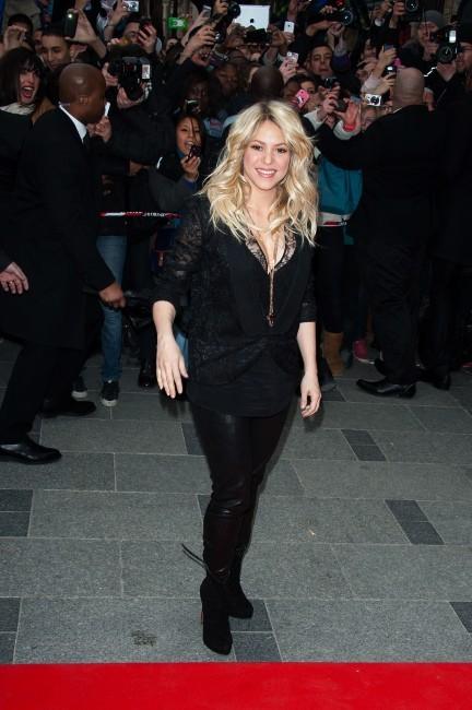 Shakira le 27 mars 2013 à Paris