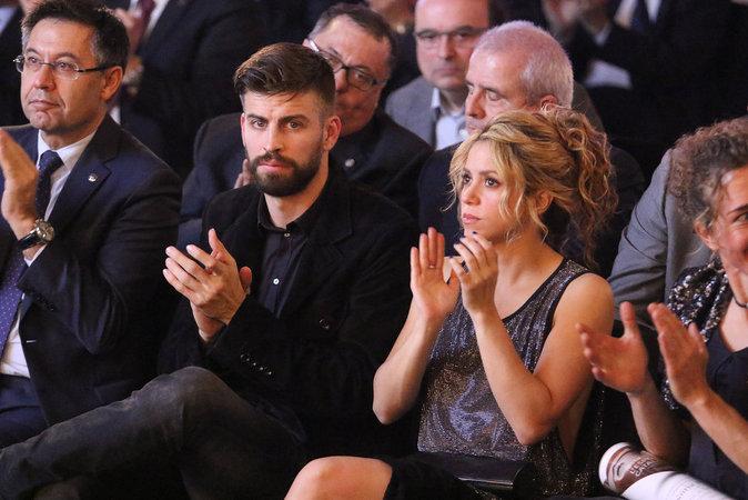 Shakira et son mari à Barcelone