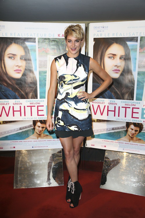 Photos : Shaleine Woodley : lumineuse pour l'avant-première parisienne de White Bird !