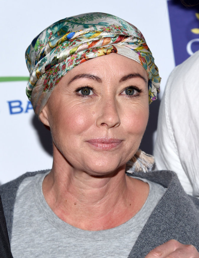 Shannen Doherty au gala Stand Up to Cancer