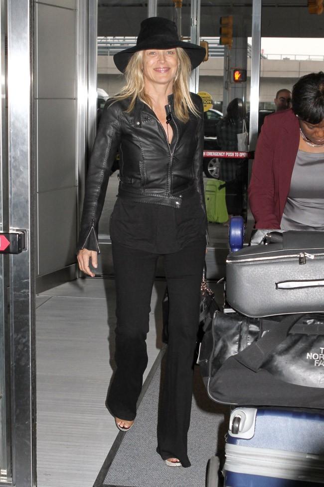 Sharon Stone le 27 septembre 2012 à New York