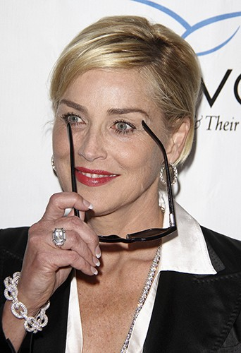 Sharon Stone à Los Angeles le 31 mai 2014