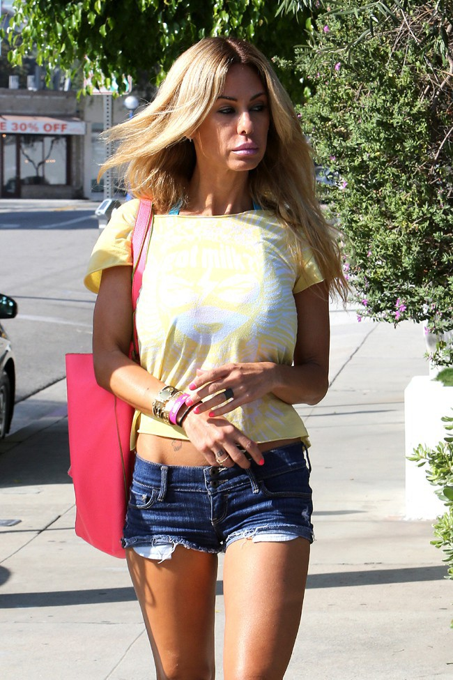 Shauna Sand à West Hollywood le 17 septembre 2013