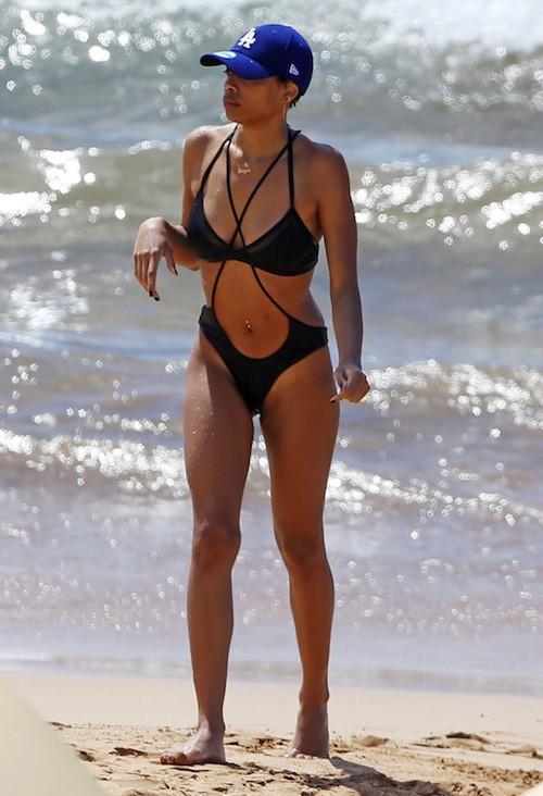 Photos : Shayne Murphy : la fille d'Eddie Murphy toujours plus sexy à la plage !