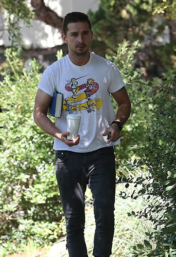 Shia Labeouf à Los Angeles le 11 juillet 2014
