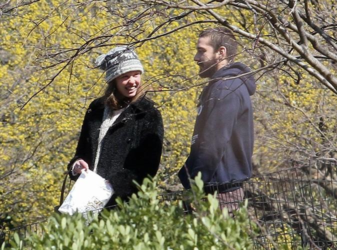 Shia LaBeouf et Mia Goth à New-York le 7 avril 2013
