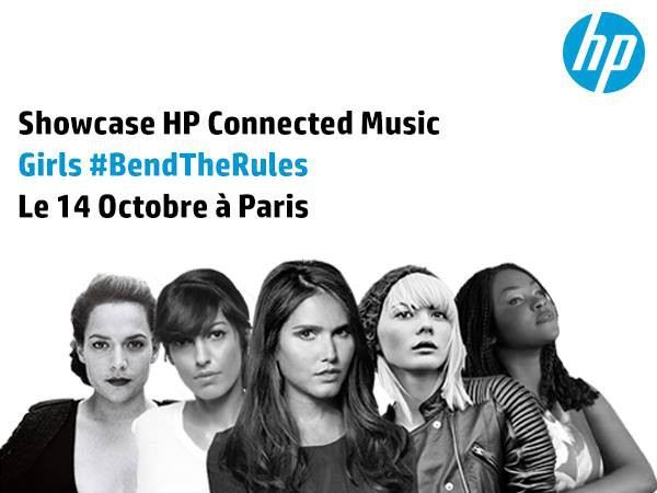 Showcase HP Connected Music spécial fille