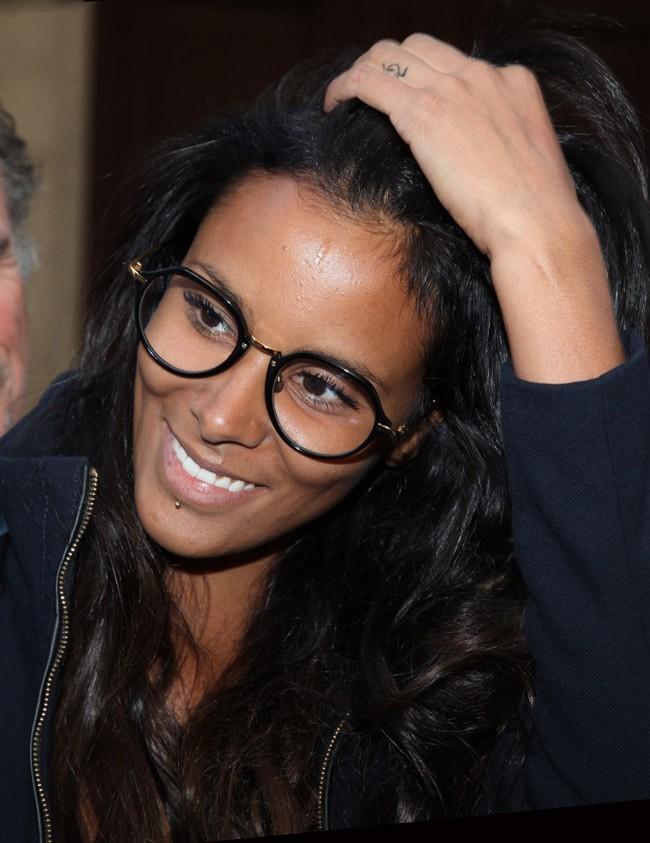 Shy'm le 19 septembre 2012 à Paris