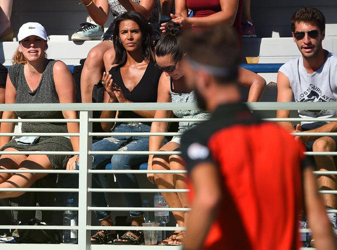 Photos : Shy'm : De Rio à l'US Open, toujours là pour soutenir Benoît !