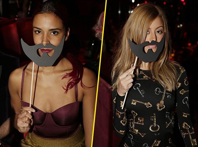 Photos : Shy'm et Zahia Dehar : des femmes à barbe qui soutiennent Conchita Wurst !