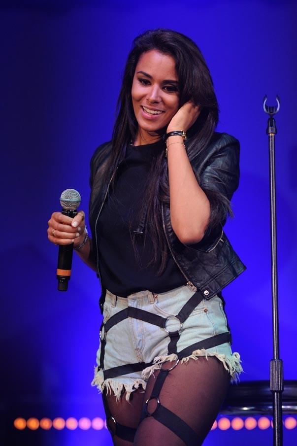 Shy'm à Lyon pour le NRJ Music Tour le 20 avril 2013