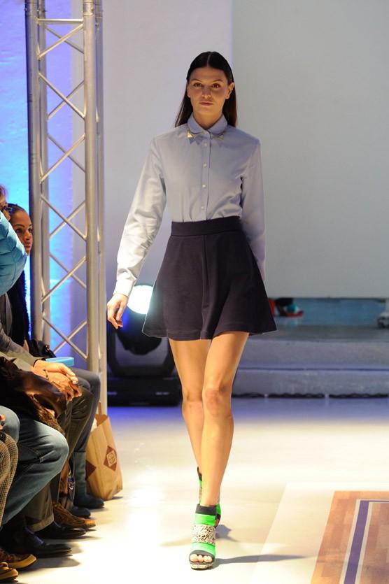 Shy'm a présenté ses premières créations pour As I Am à Paris le 4 décembre 2013