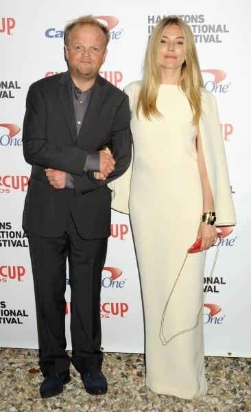 Sienna Miller et Toby Jones lors de la réception du président du Hamptons Film Festival 2012 à New York, le 6 octobre 2012.