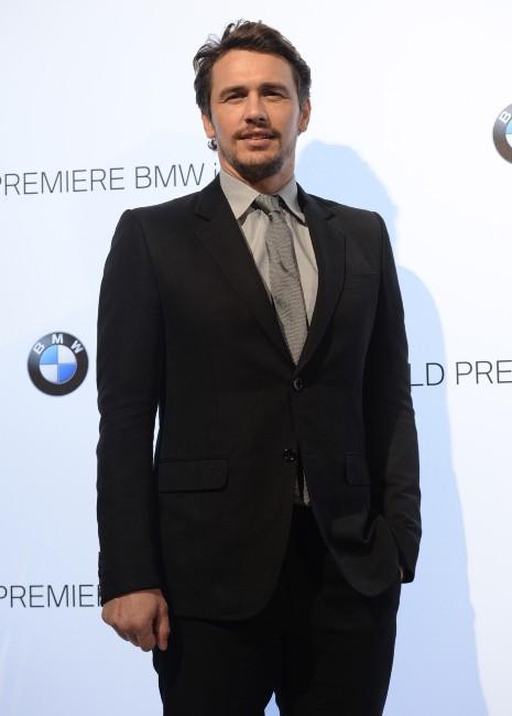 James Franco lors du lancement de la nouvelle BMW à Londres, le 29 juillet 2013.