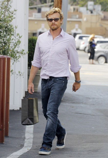 Simon Baker le 13 juin 2013 à Los AngelesA