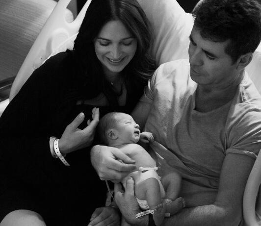 Photos : Simon Cowell : découvrez les premiers clichés de son adorable fils !