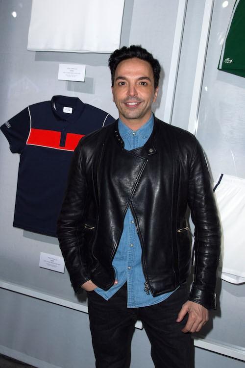 Kamel Ouali à la soirée Lacoste à Paris, le 22 janvier 2014