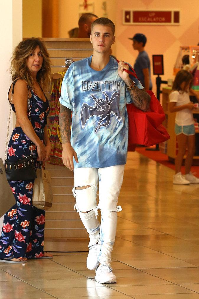 Justin Bieber à Los Angeles le 2 septembre 2016