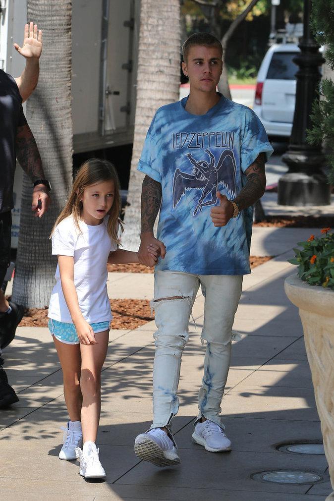 Justin Bieber et sa petite soeur Jazmine à Los Angeles le 2 septembre 2016