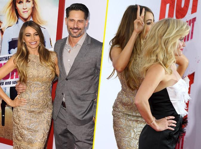 Sofia Vergara amoureuse et surexcitée face à Joe Manganiello et Reese Witherspoon !