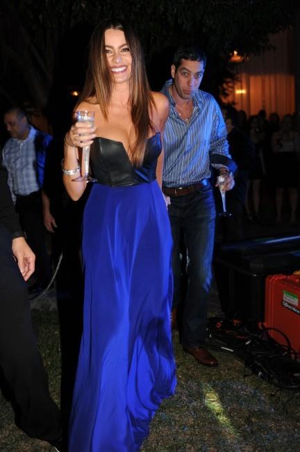 Sofia Vergara le 31 décembre 2012 à Miami