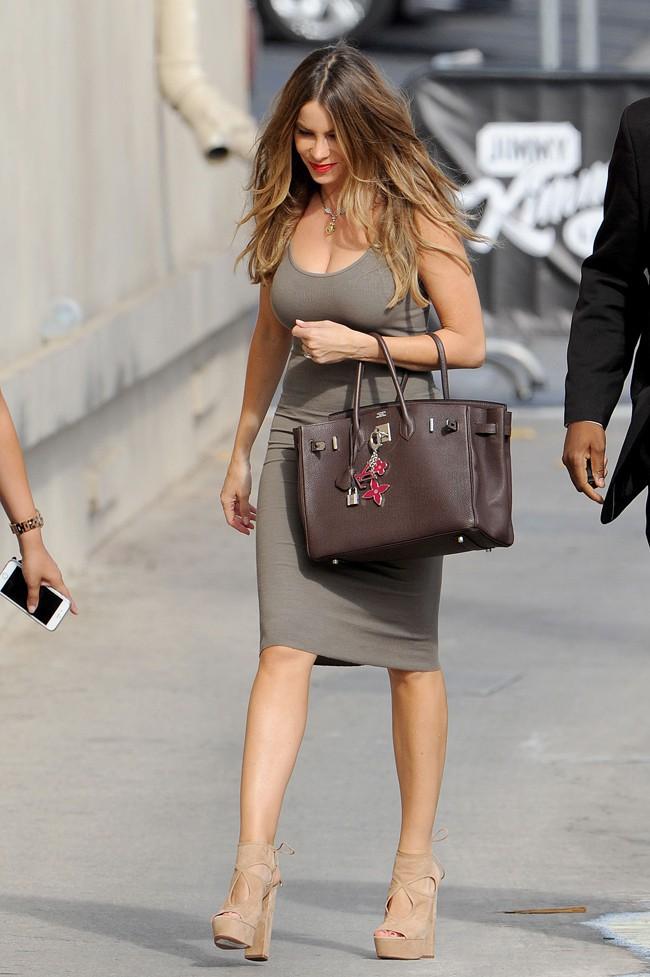 Sofia Vergara invitée de Jimmy Kimmel le 14 septembre 2015