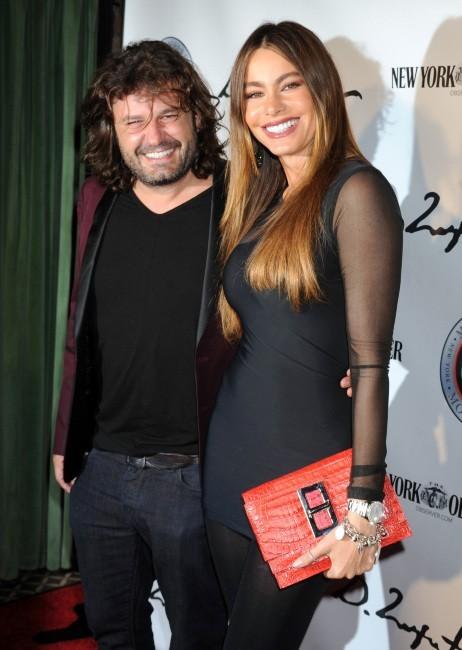 Sofia Vergara et Domingo Zapata le 24 octobre 2012 à New York