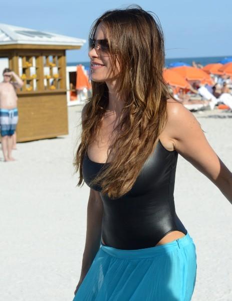 Sofia Vergara le 2 janvier 2013 à Miami
