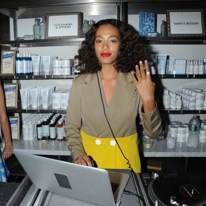 Solange Knowles : Djette stylée, elle fait sensation à New York !