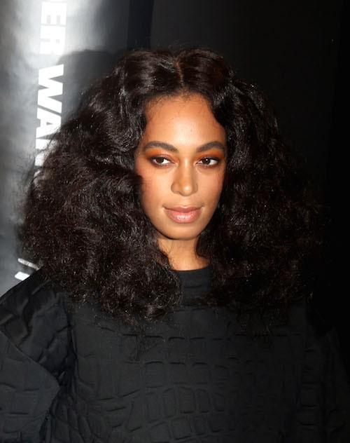Solange Knowles au défilé Alexander Wang x H&M le 16 octobre 2014 à New York !