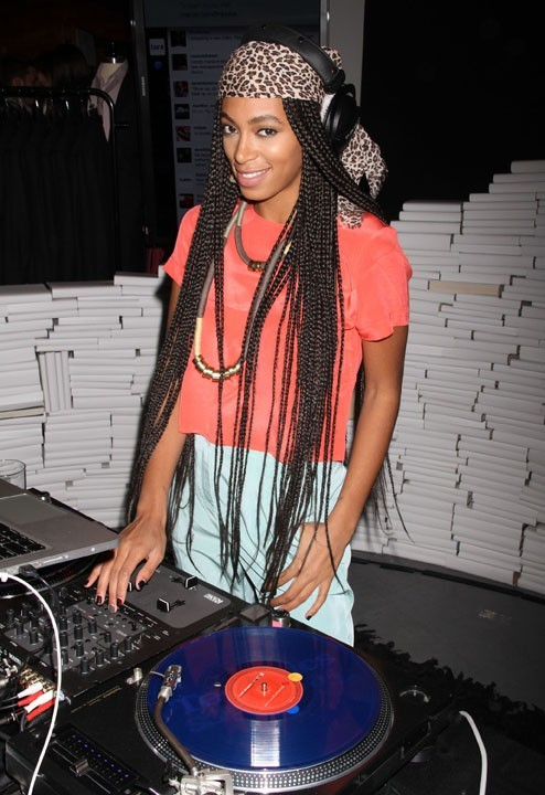 Solange Knowles à la soirée Macy's Bar III Party à New York, le 10 février 2011.
