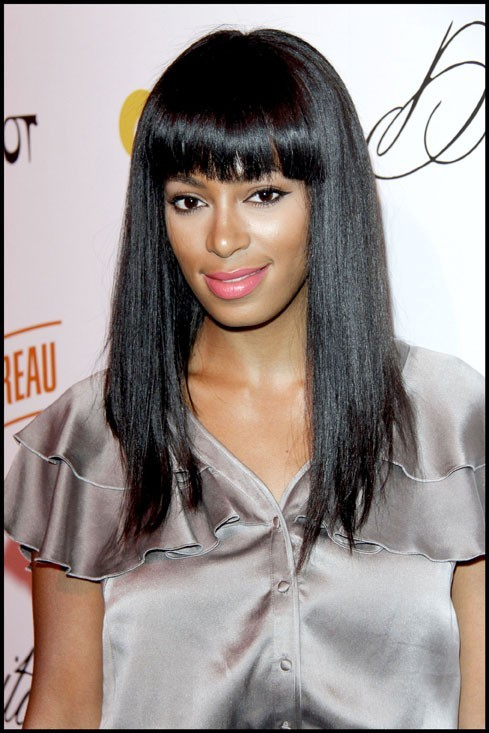 """Solange Knowles lors de la soirée """"Cointreau Teese"""" avec Dita Von Teese, le 22 juillet 2009 à Hollywood."""