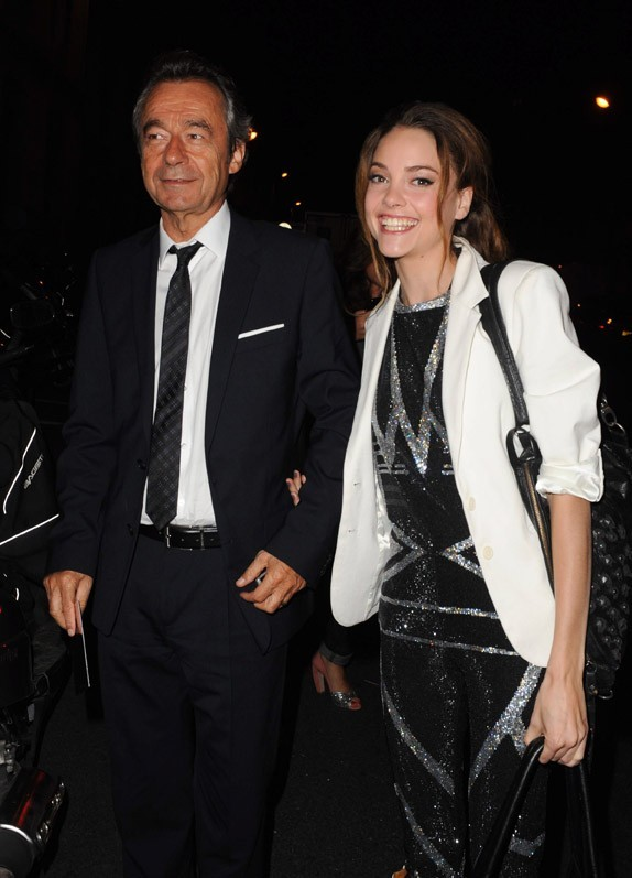 Avec Michel Denisot...