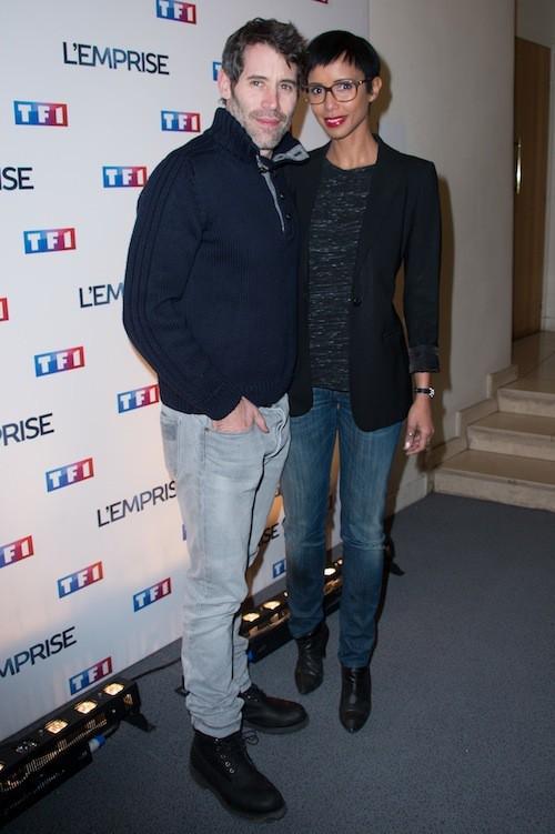 Sonia Rolland et Jalil Lespert lors de la projection de l'Emprise, le 21 janvier 2015