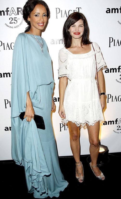 Saonia pose avec Sonia Chanéac