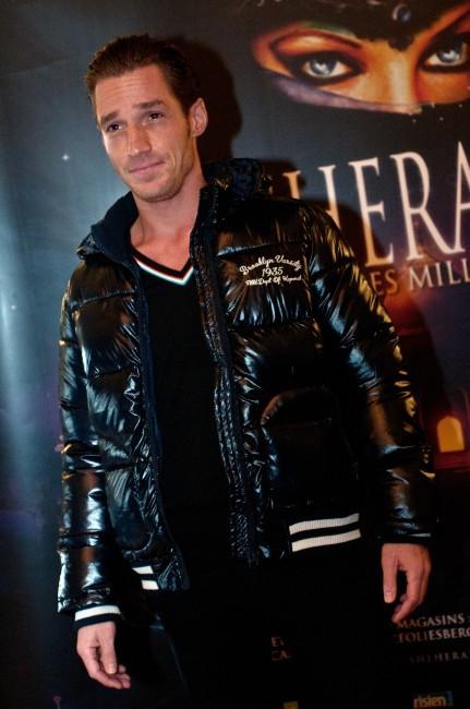 David Lantin lors de la première de Shéhérazade - Les Mille et une Nuits, le 6 décembre à Paris.