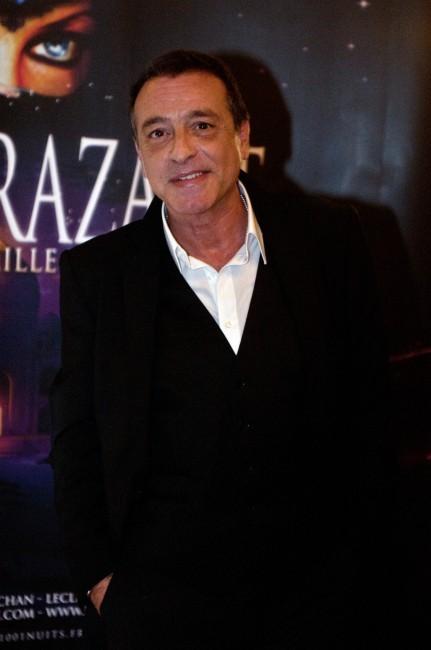 Félix Gray lors de la première de Shéhérazade - Les Mille et une Nuits, le 6 décembre à Paris.