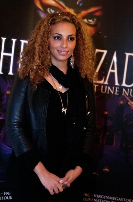 Kayna Samet lors de la première de Shéhérazade - Les Mille et une Nuits, le 6 décembre à Paris.