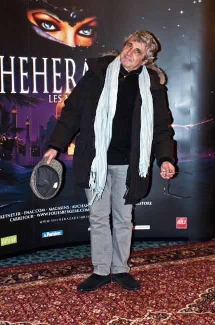 Michel Boujenah lors de la première de Shéhérazade - Les Mille et une Nuits, le 6 décembre à Paris.