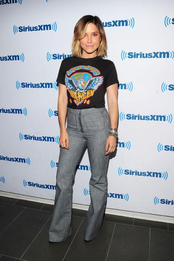Sophia Bush à New-York le 28 septembre 2015