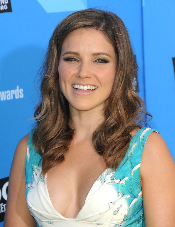 Sophia Bush sur le tapis rouge des Do Something Awards à Hollywood le 31 juillet 2013