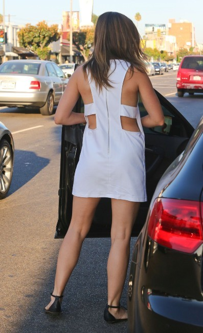 Sophia Bush à West Hollywood, le 16 septembre 2012.